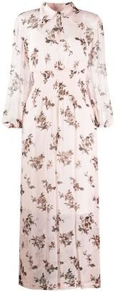 Baum und Pferdgarten Button Down Floral Print Shirt Dress