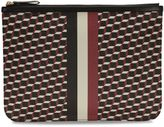 Pierre Hardy Cube-print Coated Canvas Clutch