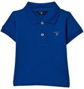 Gant Bright Blue Pique Polo