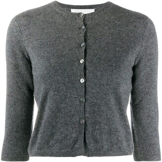 Societe Anonyme Crop Sleeve Cashmere Cardigan