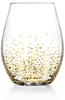 Jay Import Gold Luster Stemless Wine Glass - Set of 4