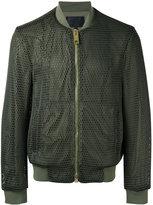 Les Hommes classic bomber jacket - men - Polyester/Cotton/Spandex/Elastane - 46
