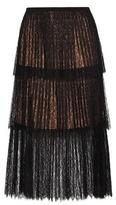 Michael Kors Pleated Lace Skirt