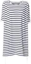 MM6 MAISON MARGIELA striped T-shirt dress