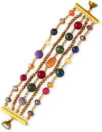 Nakamol 5-Row Bead Bracelet