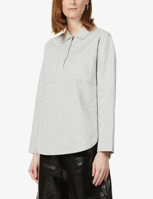 Whistles Regular-fit cotton-blend overshirt