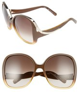 Chloé Mandy 59mm Square Sunglasses