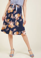 ModCloth Delight and Discuss A-Line Skirt in M