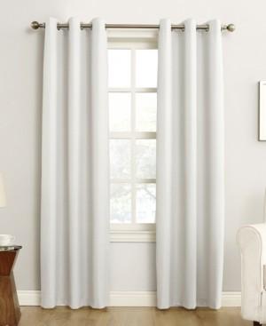 "Sun Zero Cooper 40"" x 95"" Thermal Insulated Grommet Top Curtain Panel"
