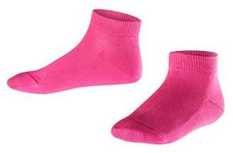 Falke Kids Family Trainer Socks - 94% Cotton, Pink ( 8550), (Manufacturer size: 19-22), 1 Pair