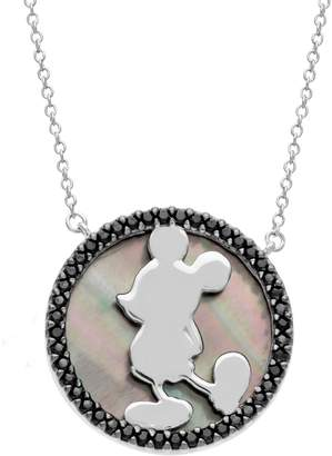 Disney Mickey's 90th Birthday Mickey Necklace, Sterling Silver