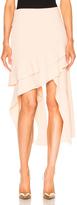 Jonathan Simkhai Cocktail Stretch Slit Skirt