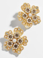 BaubleBar Sprout Button Stud Earrings
