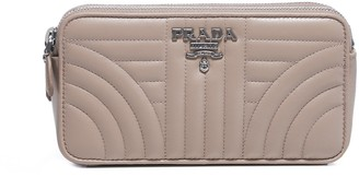 Prada Diagramme Chain Strap Crossbody Bag