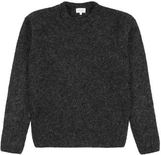Lemaire Dark Grey Wool-blend Jumper