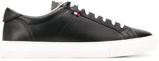 Moncler Logo Basketball Sneakers