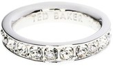 Ted Baker 'Claudii' Crystal Band Ring