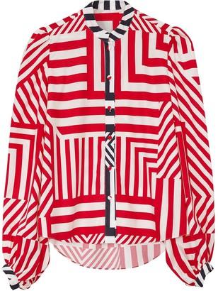 S I O B H A N M O L L O Y Geometric Print Shirt