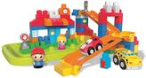Mega Bloks First Builders Fast Tracks City Center Set