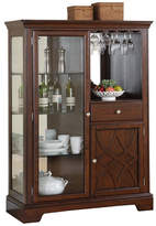 Three Posts Blue Hills Lighted China Cabinet