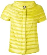 Herno shortsleeved down jacket - women - Cotton/Polyamide/Polyester/Goose Down - 40
