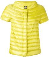 Herno shortsleeved down jacket - women - Cotton/Polyamide/Polyester/Goose Down - 44