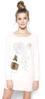 Lauren Moshi Bel Pullover Sweatshirt in Pink Champagne