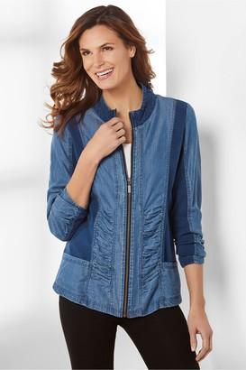Soft Surroundings Kendra Zip Jacket