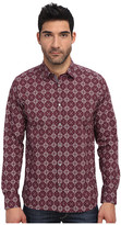 Ted Baker Wow L/S Large Geo Print Shirt