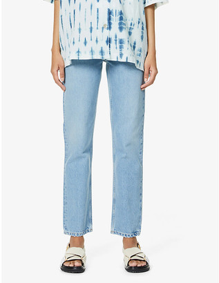 Won Hundred Billy straight-leg high-rise organic-denim jeans