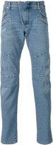 Pierre Balmain seaming details slim-fit jeans - men - Cotton/Spandex/Elastane - 36