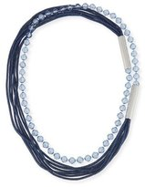 Lafayette 148 New York Bead and Mesh Long Necklace