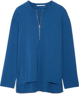 Stella McCartney Arlesa Stretch-crepe Top - Azure