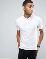 ONLY & SONS Pique Polo In Slim Fit