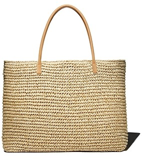 Aqua Extra-Large Woven Tote - 100% Exclusive