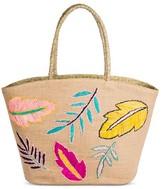Merona Women's Large Linen Tote Handbag