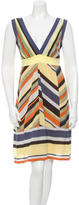 M Missoni Striped Knit Dress w/ Tags