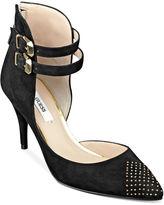 GUESS Women's Shoes, Dalinda Ankle Wrap Sandals