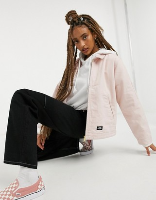 Dickies Tangipahoa jacket in light pink