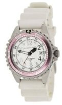 "Momentum Women's 1M-DV11WR1W ""M1 Twist"" Pink Bezel Stainless Steel Watch with Vanilla-Scented Band"