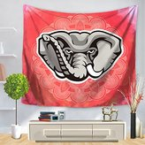 Shine Indian Hippie Elephant Tapestry Wall Hanging Home Decoractive each Throw