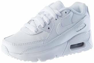 Nike Unisex Kids AIR MAX 90 LTR Little SH Running Shoe