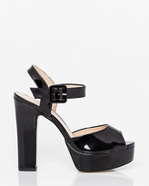 Le Château Brazilian-Made Patent Leather-Like Sandal
