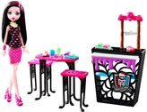 Monster High Beast Bites Cafe Draculaura Doll and Playset