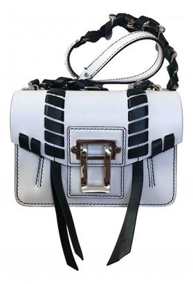 Proenza Schouler Hava White Leather Handbags