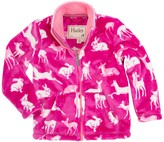 Hatley Deer & Bunnies Fuzzy Fleece Jacket (Toddler, Little Girls, & Big Girls)