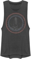Licensed Character Juniors' NASA Cape Canaveral Lift Off Muscle Tee