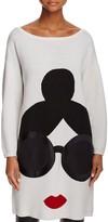 Alice + Olivia Stace Face Sweater Tunic