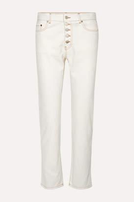 Joseph Den High-rise Straight-leg Jeans - White