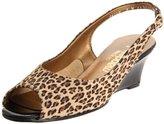California Magdesians Women's Mirella-R Cheetah Slingback Pump